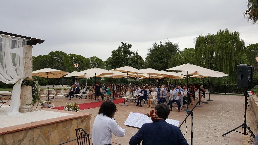 Sonorización ceremonias