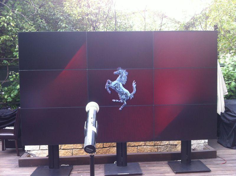 Alquiler pantallas led para ferias
