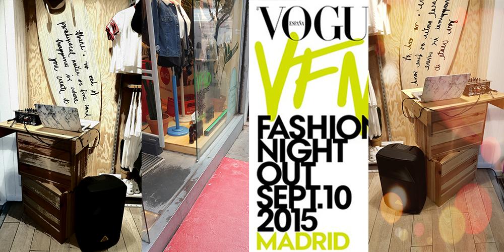 alquiler de altavoces para tiendas de ropa en Madrid