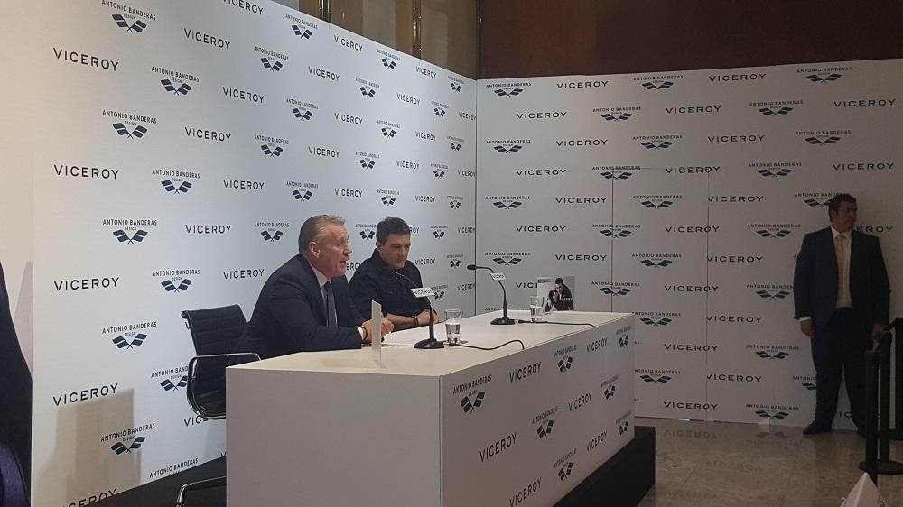 Evento Viceroy Rueda de prensa Antonio Banderas