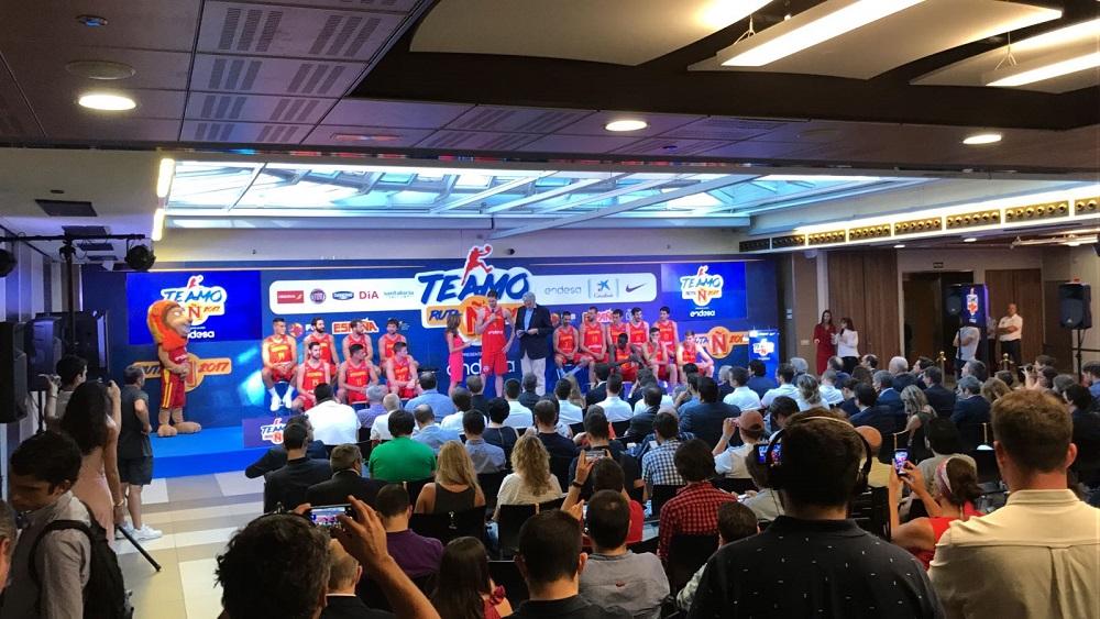 alquiler equipo audiovisual seleccion española baloncesto