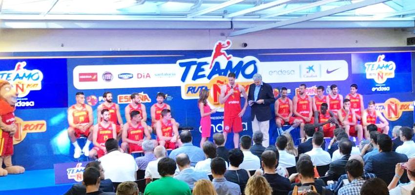 alquiler equipo audiovisual para seleccion española baloncesto