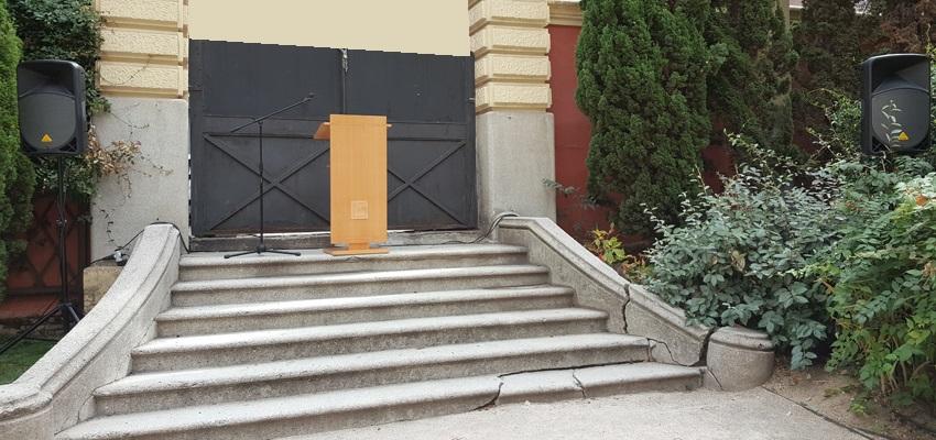 alquiler sonido para conferencia en museo lazaro galdiano Madrid